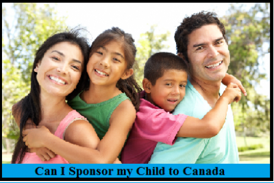 Can I Sponsor My Child to Canada