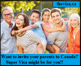 Requirements for Super Visa Application