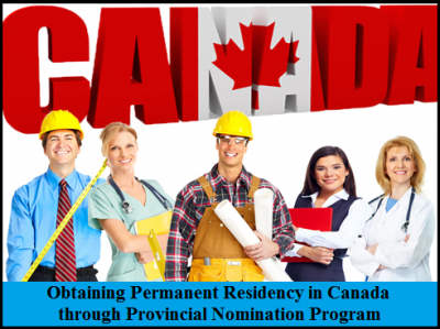 How can I become Permanent Resident in Canada through Provincial Nomination Program