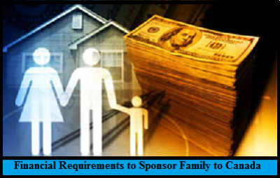 Financial Requirements to Sponsor Family to Canada