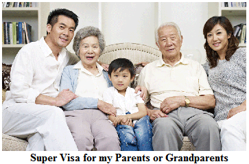 Super Visa for my Parents or Grandparents