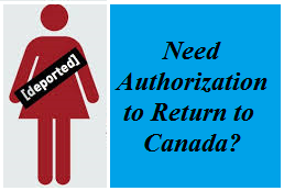 Authorization to Return to Canada