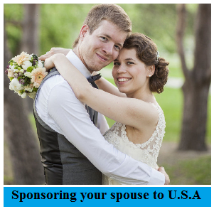 Sponsoring your spouse to USA