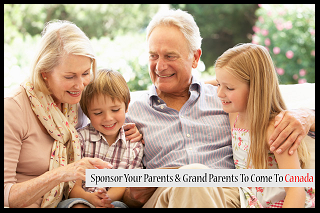 sponsor your parents or grandparents to Canada