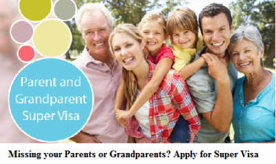 Bring your Parents and Grandparents to Canada under the Super Visa