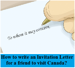 How to Write an Invitation Letter for a friend to Visit ...