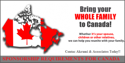 Sponsorship Requirements for Canada