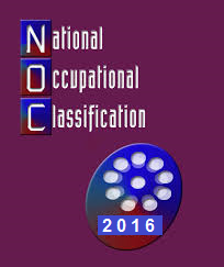 Changes to National Occupational Classification NOC