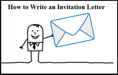 How to write an Invitation Letter