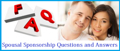 Spousal Sponsorship Questions and Answers