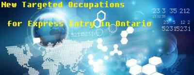 New Targeted Occupations for Express Entry in Ontario