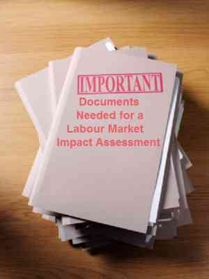 Important Documents Needed for a Labour Market Impact Assessment