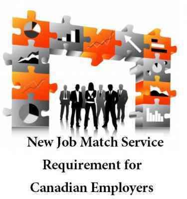 New Job Match Service Requirement for Canadian Employers