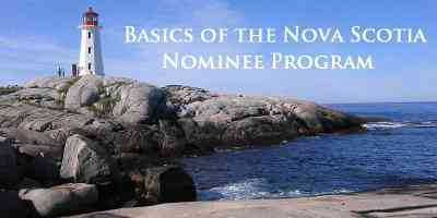 Basics of the Nova Scotia Nominee Program
