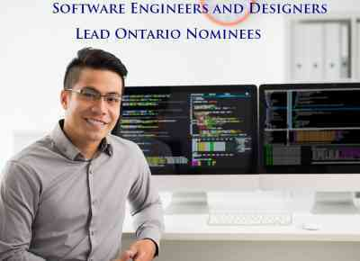 Software Engineers and Designers Lead Ontario Nominees