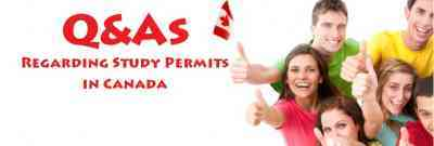 Questions and Answers Regarding Study Permits in Canada