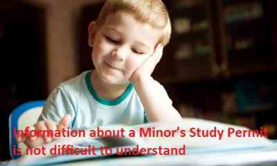 Information-about-a-Minors-Study-Permit